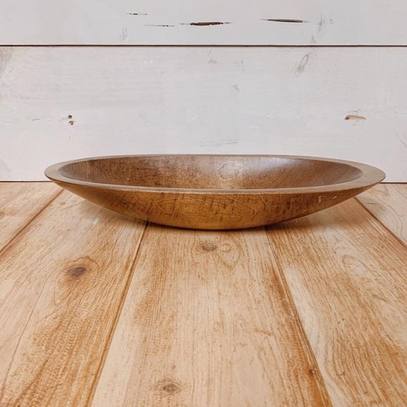 🏡Vintage Wooden Dough Bowl